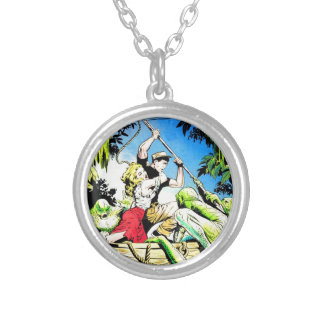 Amazing Ghost Stories Silver Plated Necklace