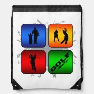 Amazing Golf Urban Style Drawstring Bag