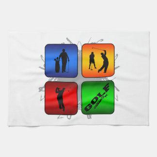 Amazing Golf Urban Style Kitchen Towel