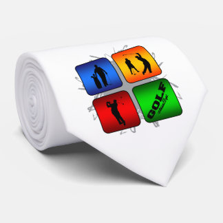 Amazing Golf Urban Style Tie