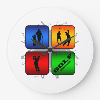 Amazing Golf Urban Style Wallclocks