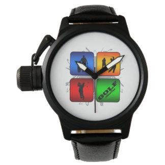 Amazing Golf Urban Style Wristwatches