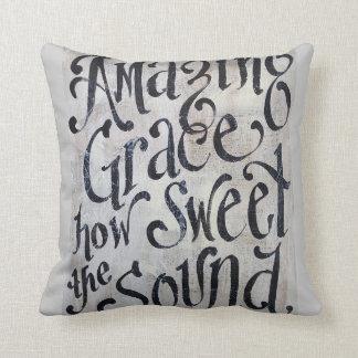 "Amazing Grace 16x16"" Pillow"