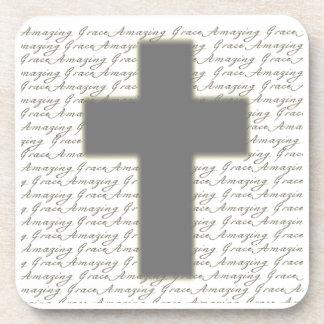 Amazing Grace and Cross Coaster