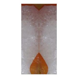 Amazing Grace: BORDER FRAME GEM PEARL crystals Custom Photo Card