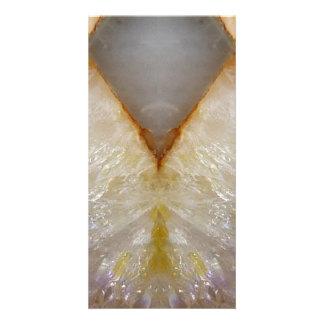 Amazing Grace: BORDER FRAME GEM PEARL crystals Photo Card