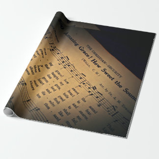 Amazing Grace Gift Wrapping Paper