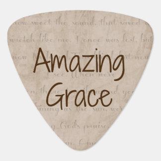 Amazing Grace Guitar Pick