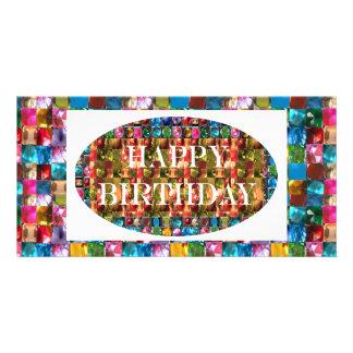 Amazing Grace:  Happy Birthday Photo Card