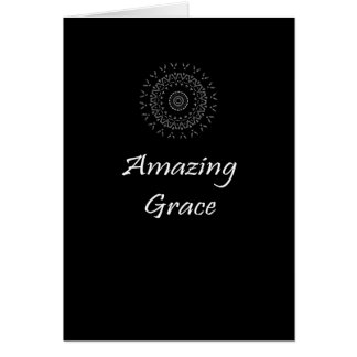 Amazing Grace How Sweet The Sound Stationery Note Card
