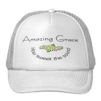 Amazing Grace how sweet the sound Christian Hats