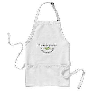 Amazing Grace how sweet the sound Christian Standard Apron