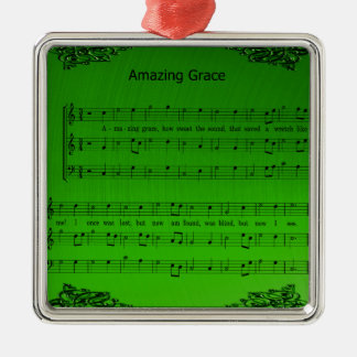 AMAZING GRACE METAL ORNAMENT