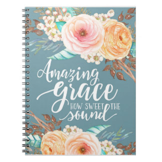 Amazing Grace Notebook