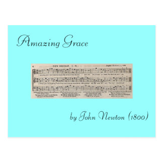 Amazing Grace Postcard