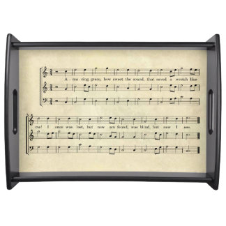 AMAZING GRACE SERVING TRAY