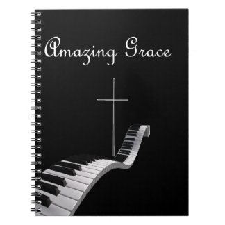 Amazing Grace Spiral Note Book