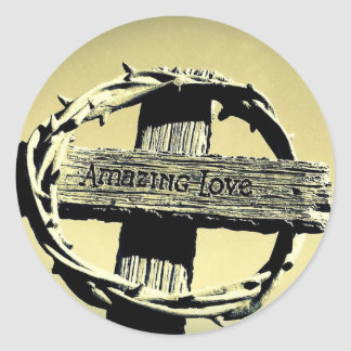 Amazing Grace Sticker - Large