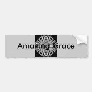 Amazing Grace Threshold Bumper Sticker