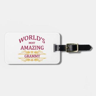 Amazing Grammy Bag Tag