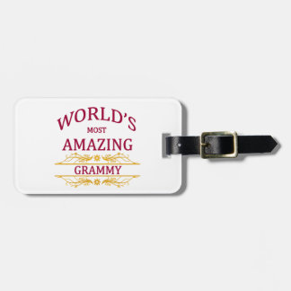 Amazing Grammy Luggage Tag