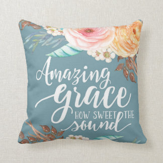 "Amazing Grzce 16"" x 16"" Pillow"