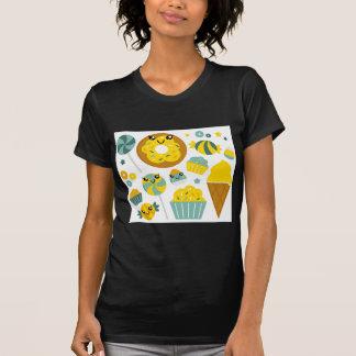 Amazing hand-drawn Donuts Illustrated T-Shirt