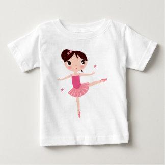 Amazing hand painted Pink balerina Baby T-Shirt