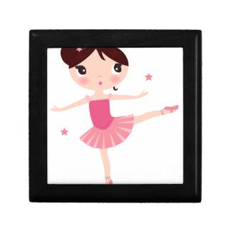 Amazing hand painted Pink balerina Gift Box