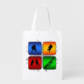 Amazing Hockey Urban Style Reusable Grocery Bag