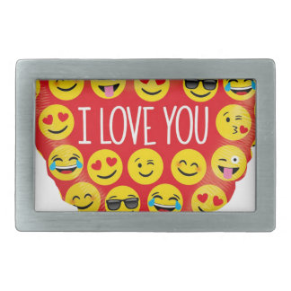 Amazing I love you Emoji Gift Belt Buckle