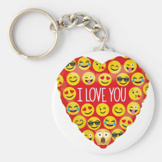 Amazing I love you Emoji Gift Keychain