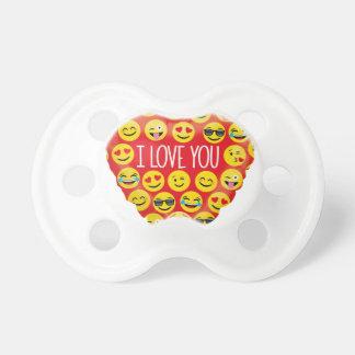 Amazing I love you Emoji Gift Pacifier