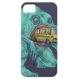 "Amazing Iphone Case ""Monster eating a bus"""