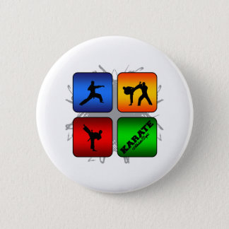 Amazing Karate Urban Style 2 Inch Round Button