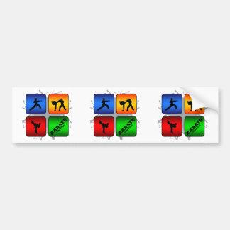 Amazing Karate Urban Style Bumper Sticker
