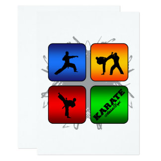 Amazing Karate Urban Style Card