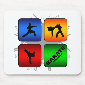 Amazing Karate Urban Style Mouse Pad