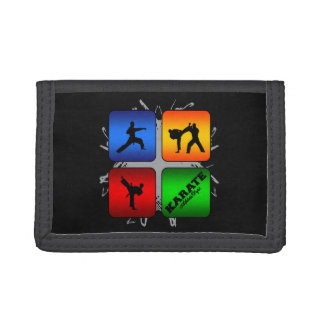 Amazing Karate Urban Style Trifold Wallet