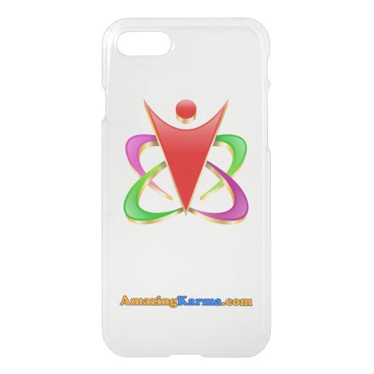 Amazing Karma | AmazingKarma.com Logo Clear iPhone 8/7 Case