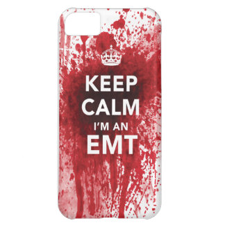 "Amazing ""Keep Calm, I'm an EMT"" New iPhone 5C Case"