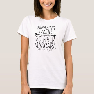 Amazing Lashes sponsored by 3D Fiber Mascara T-Shirt