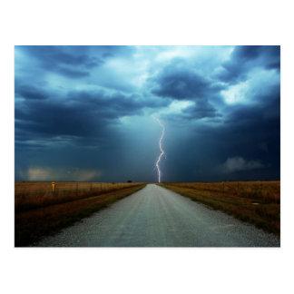 Amazing Lightning Postcard