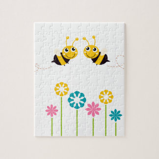 Amazing little cute Bees t-shirts Jigsaw Puzzle
