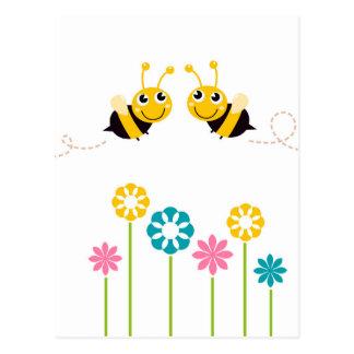 Amazing little cute Bees t-shirts Postcard