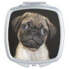 Amazing Little Pug Puppy Vanity Mirror