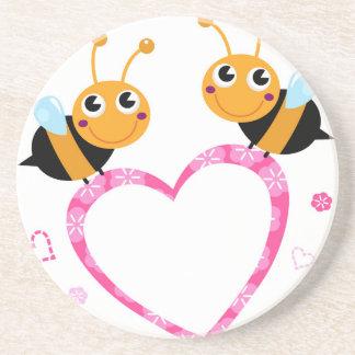 Amazing Love bees Tshirts Coaster