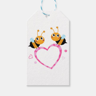 Amazing Love bees Tshirts Pack Of Gift Tags