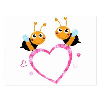 Amazing Love bees Tshirts Postcard