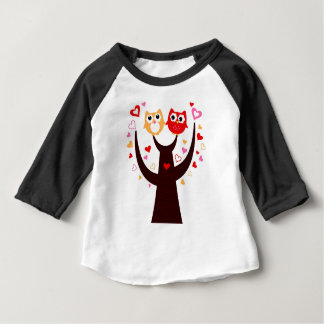 Amazing Love birds colorful on Tree Baby T-Shirt